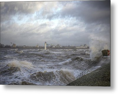 The Wild Mersey Metal Print by Spikey Mouse Photography