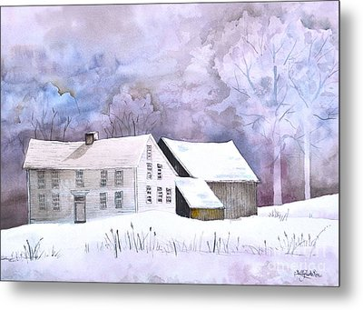 The Wilder Homestead Metal Print by Sally Rice