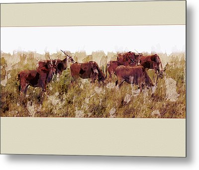 The Wilds Metal Print by Ron Jones