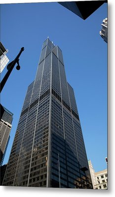 The Willis Tower Metal Print by Jim West