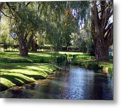 The Willows Of Grand Pre Metal Print by George Cousins