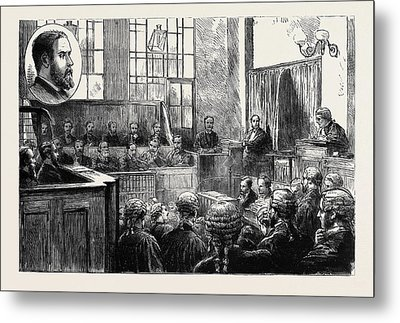 The Wimbledon Poisoning Case Trial Of Dr Metal Print