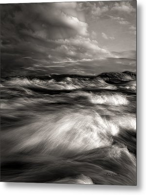The Wind And The Sea Metal Print by Bob Orsillo