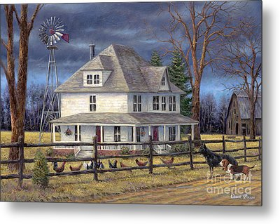The Wind Takes You Back Metal Print by Chuck Pinson