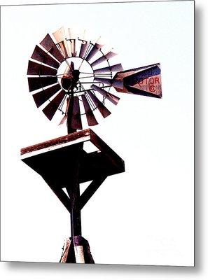 The Windmill Metal Print by Avis  Noelle