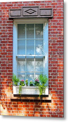 The Window In The Afternoon Metal Print