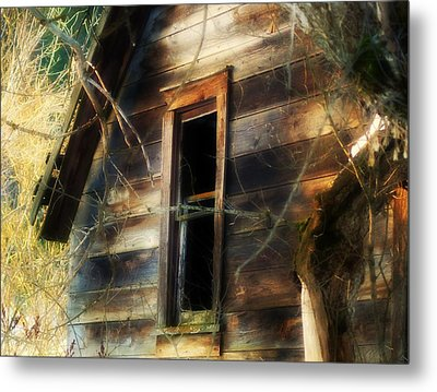 The Window2 Metal Print