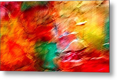 The Winds Of Color Metal Print