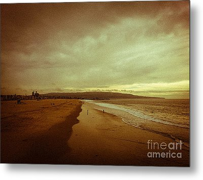 The Winter Pacific Metal Print by Fei A