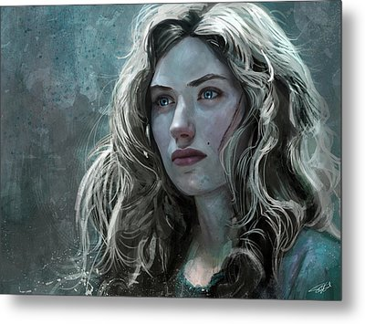 The Witch Metal Print by Steve Goad