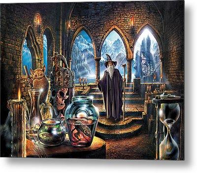 The Wizards Castle Metal Print by Steve Crisp