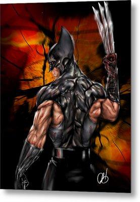 The Wolverine Metal Print