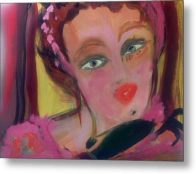 The Woman Who Whistled At The Opera Metal Print