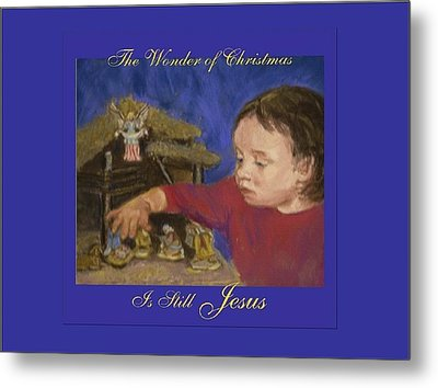 The Wonder Of Christmas Metal Print
