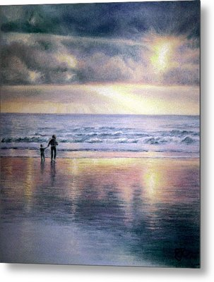 The Wonder Of Light Metal Print