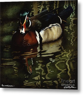 The Woodsman... Metal Print