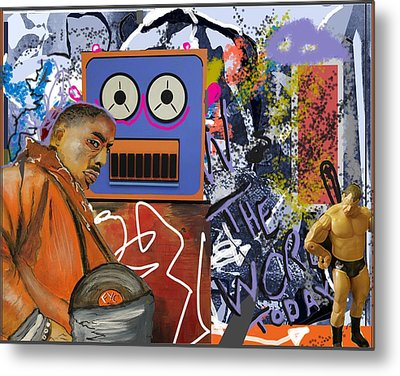 'the Word Today' Metal Print
