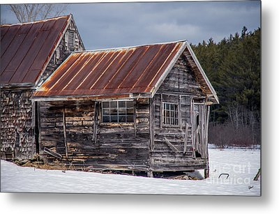 The Work Shed Metal Print by Alana Ranney
