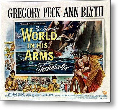 The World In His Arms 1952 Metal Print by Mountain Dreams