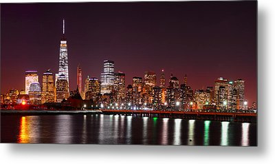 The World Trade Center Metal Print
