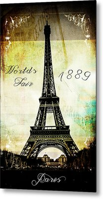 The Worlds Fair Of 1889 Metal Print