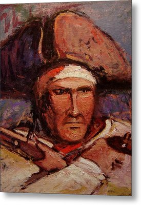The Wounded Patriot Metal Print by R W Goetting