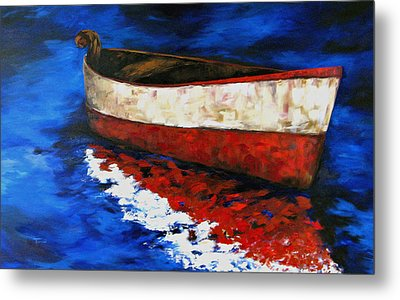 The Wright Boat Metal Print