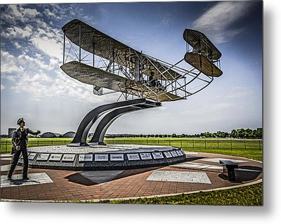 The Wright Flyer Metal Print