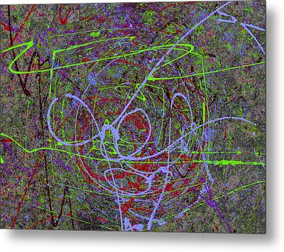 The Writing On The Wall 15 Metal Print by Tim Allen