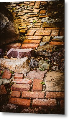 Metal Print featuring the photograph The Yellow Brick Road by Beverly Parks