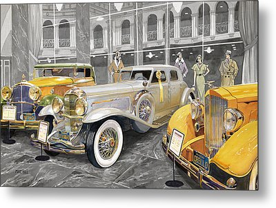 The Yellow Ribbon Metal Print by Mike Hill