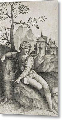 The Young Shepherd Metal Print