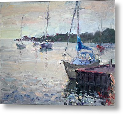 The Youngstown Yachts Metal Print by Ylli Haruni