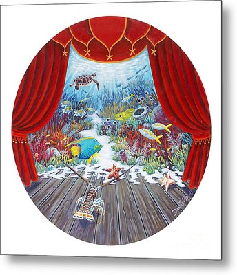 Theater Of The Sea Metal Print by Danielle  Perry