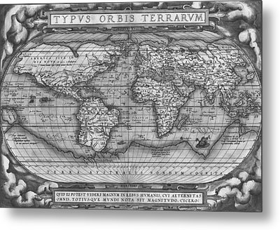 Theatre Of The World Metal Print
