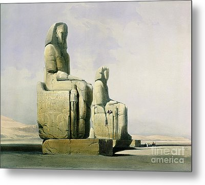 Thebes Metal Print by David Roberts