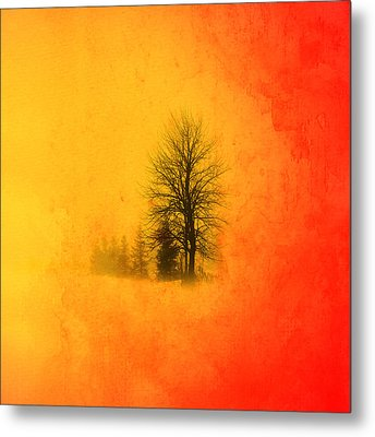 Thee Tree  Metal Print