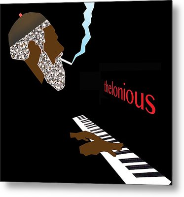 Thelonious Monk Metal Print by Victor Bailey