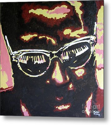 Thelonius Monk Metal Print by Ronald Young
