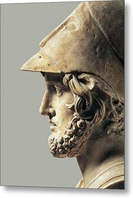 Themistocles. 5th-4th C. Bc. Greek Art Metal Print by Everett