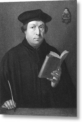 Theologian Martin Luther Metal Print