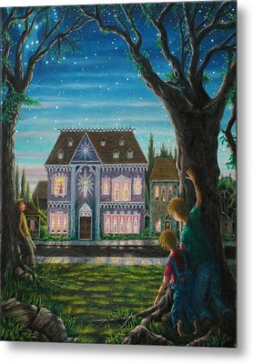 There Is A House In New Orleans Metal Print