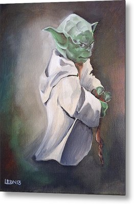 There Is No Try  Metal Print by Chris  Leon