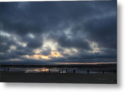 There's A Freedom In The Night Metal Print by Laurie Search