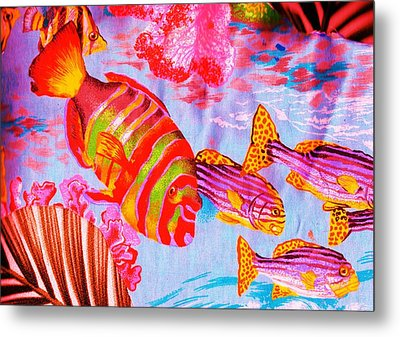 There's Something Fishy Goin' On   Metal Print by Anne-Elizabeth Whiteway