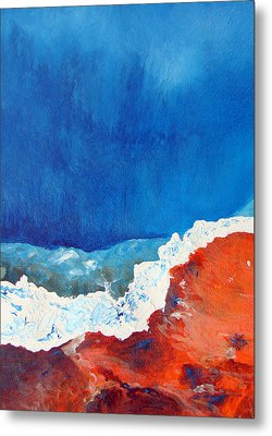 Thermal Shift Metal Print by Abbie Groves