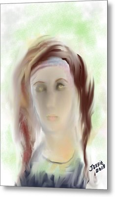 These Eyes Metal Print by Jessica Wright