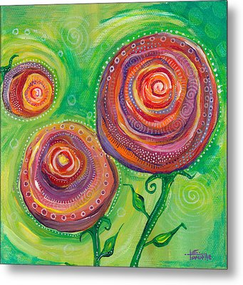 These Roses Are Forever Metal Print by Tanielle Childers