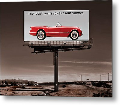 They Dont Write Songs Metal Print