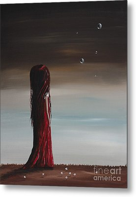 They Say She's A Dreamer By Shawna Erback Metal Print by Shawna Erback